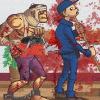 Zombie Warrior Man Online Shooting game