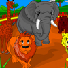 Zoo Coloring Game Online Puzzle game